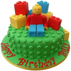 lego cakes for boys birthday Lego Torte, Lego Cake, Celebration Cakes, Birthday Celebration, Bolo Lego, Lego Birthday Party, Birthday Cakes, Birthday Ideas, 5th Birthday