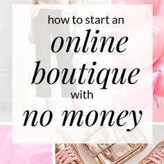 If you want to start an online boutique but have no money click through to read more about what you'll actually need when launching the online boutique of your dreams. Starting A Business, Business Planning, Business Tips, Online Business, Llc Business, Craft Business, Business Marketing, Content Marketing, Mobile Boutique