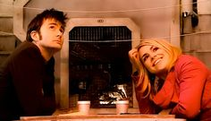The 10th Doctor and Rose Tyler. <3