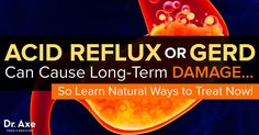 Between 25 percent to 40 percent of Americans suffer from acid reflux symptoms and 20 percent from GERD. Click here to learn how to treat them naturally.