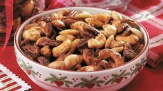HOLIDAY SPICED NUTS http://www.pillsbury.com/recipes/holiday-spiced-nuts/9a2a7c7f-c62d-4b30-8efb-2a236402f68f ⇨ Follow City Girl at link https://www.pinterest.com/citygirlpideas/ for great pins and recipes!  ☕