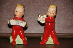 Napco Pixieware Salt and Pepper Shakers