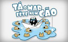 Tá o Mar Fête num Cão | Miau Miau Mó Store