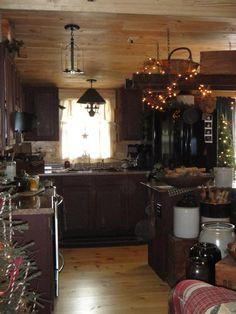 Weiricks Primitives kitchen remodel