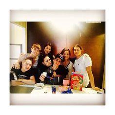 Sofia Carson and the Descendants Cast Disney Descendants Cast, Descendants Wicked World, Descendants 2015, Descendants Characters, Disney Channel Stars, Disney Stars, Zachary Gibson, Cameron Boyce Descendants, Cameron Boys
