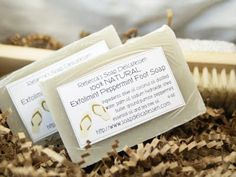 Learn how to make your own naturally exfoliating homemade foot soap recipe that exfoliates with pumice and nourishes with shea butter.