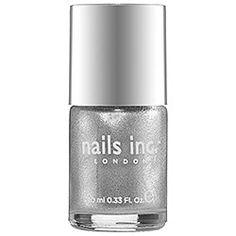 nails inc. - Cambridge Terrace, Metallic Icy Silver