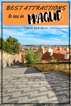 Prague is an amazing city of Czech Republic. Here is a list of things to do in Prague. 10 Best attractions to see in Prague. Top Europe Destinations, Travel Tips For Europe, Traveling Europe, Travel Plan, Travel Advice, Prague Travel Guide, Prague Czech Republic, European Destination, Travel Photos