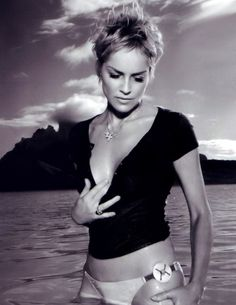 Sharon Stone has always been a sexy blond to me.