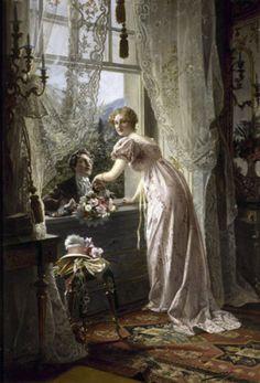 The Romantic Proposal, Johann Hamza Tavlor, Glic�e