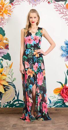 95edb9c1f Só na Antix Store você encontra Vestido Longo Camaleão com exclusividade na  internet