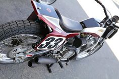 OldMotoDude: Yamaha Virago flat tracker spotted at the 2018 Bonneville Vintage GP -- Tooele, Utah. Yamaha Virago, Flat Tracker, Street Tracker, Street Bikes, Dirt Bikes, Vintage Motorcycles, Photo S, Utah, Motorcycle Girls