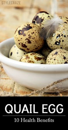 18 Important Health Benefits, Nutrition, And Side Effects Did you ever have quail eggs? Do you know that these eggs are more nutritious than the chicken eggs we usually have? In addition to all this, quail eggs also have a number of health benefits. Quail Eggs Benefits, Egg Benefits, Coconut Health Benefits, Raising Quail, Raising Chickens, Pickled Quail Eggs, Quail Coop, Quail Recipes, Portable Chicken Coop