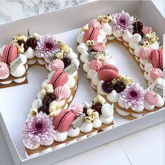 Tag your friends. By adi cake decorating recipes kuchen kindergeburtstag cakes ideas Birthday Cake 30, Number Birthday Cakes, 21st Birthday Decorations, Birthday Cakes For Women, Number Cakes, Birthday Celebration, Birthday Parties, Happy Birthday, Birthday Surprise Ideas