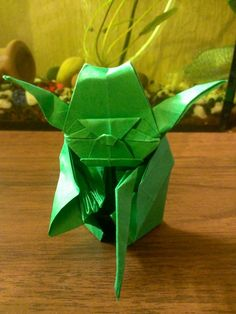 Yoda Master origami