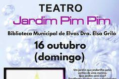 Teatro infantil: Jardim Pim Pim | Portal Elvasnews