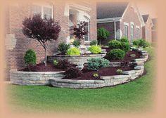 split faced block retaining wall | Retaining Walls - Outdoor Ideas!