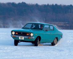 Datsun B210 1st CAR MINE WAS DARK BLUE