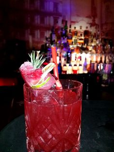 #kingston #cocktail #cherry #cranberry #red