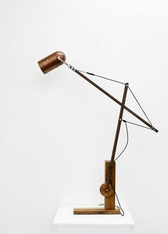 Tensegrity lamp 2