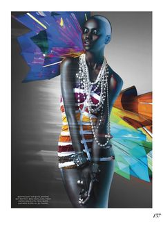 express yourself: herieth paul by gabor jurina for fashion canada april 2014
