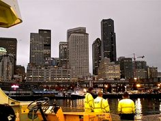 Ferry back to downtown Seattle from Bainbridge Island