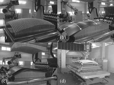 Multipoint stretch forming machine (photographs: courtesy of SteelLife).