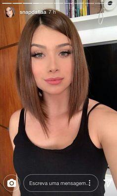 New Hair Cuts New Highlights Ideas Hair Color 2018, Hair 2018, 2018 Color, Hair Color Balayage, Ombre Hair, Short Hair Wigs, Short Hair Styles, Stylish Short Hair, Short Straight Hair