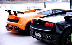 Lamborghini Car On Fast And Furious 7 Movie Wallpaper