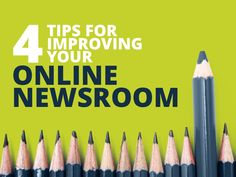 4 tips for improving your online newsroom by @prezly