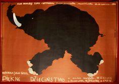 YAKOV SEGEL - DURING A BEAUTIFUL CHILDHOOD - ORIGINAL POLISH CINEMA POSTER | eBay