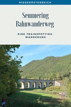 Eine Trainspotting Wanderung auf 21 Kilometern rund um Viadukte, pfeifende Züge und herrlichen Ausblicken. Streckenbeschreibung und Tipps für den Bahnwanderweg zwischen Semmering und Payerbach. #SemmeringWandern #ÖsterreichSchönsteOrte #ÖsterreichUrlaub #ÖsterreichWandern #ÖsterreichUrlaubSommer #NiederösterreichAusflug #Niederösterreich #ÖsterreichAusflugsziele #AusflügeÖsterreich #AusflugszieleinÖsterreich #Semmeringwandern #Semmeringbahn #WanderninNiederösterreich #WandertippsÖsterreich Bahn, Desktop Screenshot, Day Trips, Road Trip Destinations, Beautiful Places, Round Round