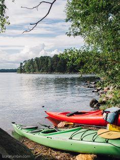 Melontaa Helsingissä, Vuosaaren edustalla. #kayaking #paddling #visithelsinki #visitfinland #naturaviva