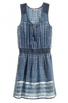 Zineba Silk Smocked Waist Dress   | Calypso St. Barth