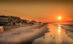 Sunset at Muizenberg Beach