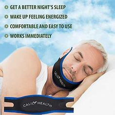 Calily Wellness Totally Adjustable Anti-Snoring Chin Band - Natural and Instant Snore Relief The Calily Health Anti-Snoring Chin Strap maintains your mouth closed when you're resting, which motivates breathing with the nose. Created to successfully quit Home Remedies For Snoring, Sleep Apnea Remedies, Trying To Sleep, How To Get Sleep, Hyderabad, Circadian Rhythm Sleep Disorder, What Causes Sleep Apnea, How To Stop Snoring