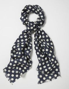 Polk-a-dot scarf, cute