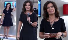 moda do programa Encontro - look da Fátima Bernardes dia 27 de maio