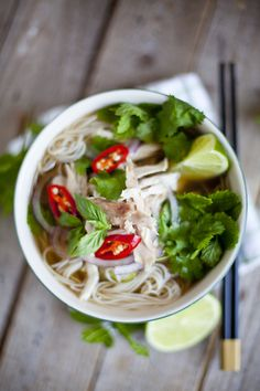 Vietnamese Chicken Noodle Soup: The broth to end all broths!