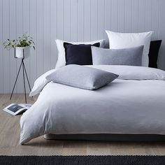 Home Republic - Ultra Soft White- Bedroom Quilt Covers & Coverlets - Adairs online