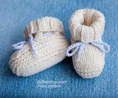 Knitting Patterns Free Baby Booties