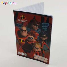 A Hihetetlen család egyetlen egy tagja sem maradt le erről a szuper vagány füzetről, amelynek mintázata biztos, hogy meghozza gyerkőcöd kedvét egy kis tanuláshoz!     Jellemzői:  - A/5  - 27-32  - Négyzetrácsos  - Hihetetlen család minta Minion, Latte, Lunch Box, Marvel, Disney, Cover, Phone Cases, Coffee Milk, Marvel Marvel