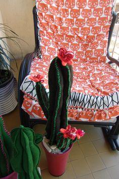 Cactus, Felt Fabric