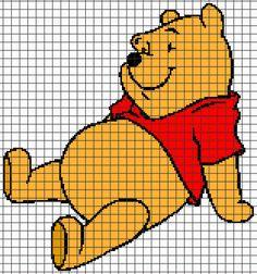 (4) Name: 'Crocheting : Winnie The Pooh Sitting