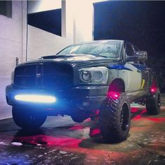 Like the tires, not so much the pink lights