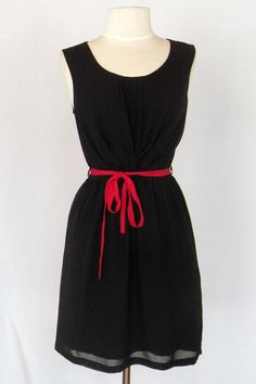 Cute Fashion Spy red & black Gameday dress - great for Bama & UGA.