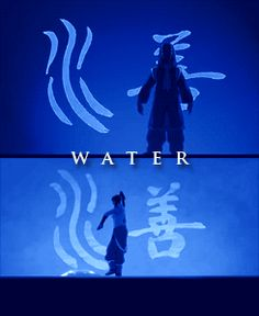 Avatar: The Last Airbender opening bending sequences versus Legend of Korra opening sequences. WATER