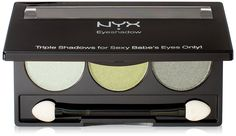 NYX Trio Eye Shadow, Spring Leaf/Lime Green/Green Tea >>> Be sure to check out this awesome product. (Note:Amazon affiliate link)