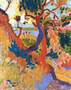 André Derain landscape painting  Cullowhee Mountain ARTS www.cullowheemountainarts.org