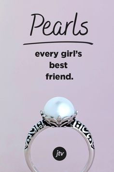 Every Girl's Best Friend The true-life story of Christian music star Jeremy Camp and his journey of love and loss that looks to prove there is always hope. Pearl Ring, Pearl Jewelry, Antique Jewelry, Silver Jewelry, Cute Jewelry, Jewelry Box, Jewelery, Jewelry Accessories, Journaling
